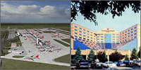 Detroit Metro Airport, Romulus, Michigan, Hotels Motels