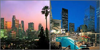 Downtown Los Angeles, California, Hotels Motels