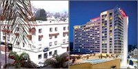 Hollywood, California, Hotels Motels