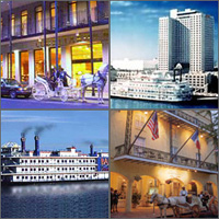 New Orleans, Louisiana, Hotels Motels