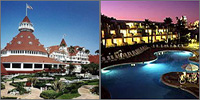 Coronado, San Diego, California, Hotels Motels Resorts
