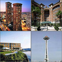 Seattle, Washington, Hotels Motels