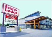 Econo Lodge Peace Arch (now Best Western), White Rock, British Columbia Reservation