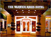 Warwick Regis Hotel, Downtown San Francisco, California Reservation