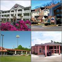 Acworth, Kennesaw, Woodstock, Georgia, Hotels Motels