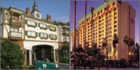 Disneyland, Anaheim, California, Hotels Motels Resorts