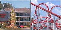 Six Flags over Georgia Atlanta, Austell, Lithia Springs, Georgia, Hotels Motels