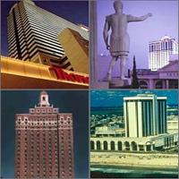 Atlantic City, New Jersey, Casinos Hotels Motels Resorts
