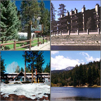 Big Bear Lake, California, Hotels Motels Resorts