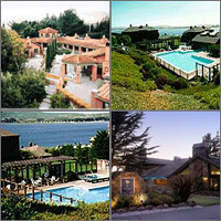 Bodega Bay, California, Hotels Motels