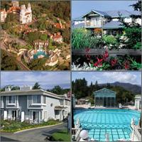 Hearst Castle, Cambria, San Simeon, California, Hotels Motels Resorts