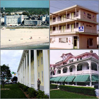 Cape May, Wildwood, New Jersey, Hotels Motels Resorts