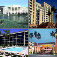 Costa Mesa, California, Hotels Motels