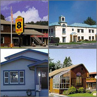 Crescent City, California, Hotels Motels