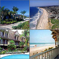 Del Mar, Solana Beach, California, Hotels Motels Resorts