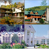 Gatlinburg Pigeon Forge Area, Tennessee, Hotels Motels Resorts