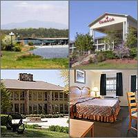 Blairsville, Hiawassee, Young Harris, Georgia, Hotels Motels