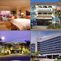 Huntington Beach, Seal Beach, Sunset Beach, California, Hotels Motels