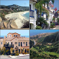 Laguna Beach, California, Hotels Motels