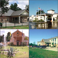 Lake Charles, Sulphur, Kinder, Louisiana, Hotels Casinos Motels