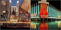 Downtown Las Vegas, Nevada, Casinos Hotels Motels Resorts