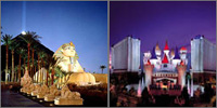The Strip, Las Vegas, Nevada, Casinos Hotels Motels Resorts