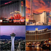 Las Vegas, Nevada, Casinos Hotels Motels Resorts