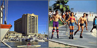 Marina Del Rey, Venice Beach, California, Hotels Motels
