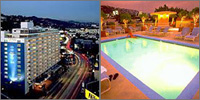 West Hollywood, California, Hotels Motels