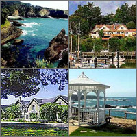 Ft. Bragg, Mendocino, California, Hotels Motels