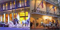 French Quarter, New Orleans, Louisiana, Hotels
