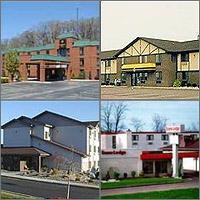 New Stanton, Greensburg, Pennsylvania, Hotels Motels