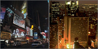 Times Square, Manhattan, New York, Hotels