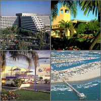 Newport Beach, California, Hotels Motels