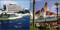 Lake Buena Vista, Disney World, Orlando, Florida, Hotels Resorts