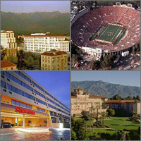 Pasadena, California, Hotels Motels