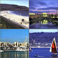 Hermosa Beach, Redondo Beach, California, Hotels Motels