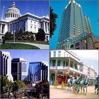 Sacramento, California, Hotels Motels
