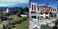North Lake Tahoe, California, Nevada, Hotels Casinos Motels Resorts