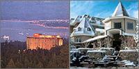 South Lake Tahoe, Stateline, California, Nevada, Hotels Casinos Motels Resorts