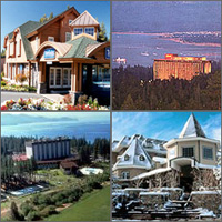 Lake Tahoe, California, Nevada, Hotels Casinos Motels Resorts