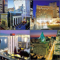 Vancouver, British Columbia, Hotels Motels