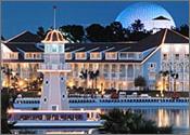 Disney's Beach Club Resort, Disney World area, Lake Buena Vista, Florida Reservation