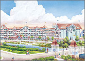 Disney's Beach Club Villas, Disney World area, Lake Buena Vista, Florida Reservation