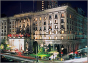 Fairmont San Francisco Hotel, Downtown San Francisco, California Reservation