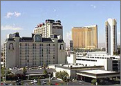 Hotel San Remo (now Hooters Casino), East of Strip, Las Vegas, Nevada Reservation
